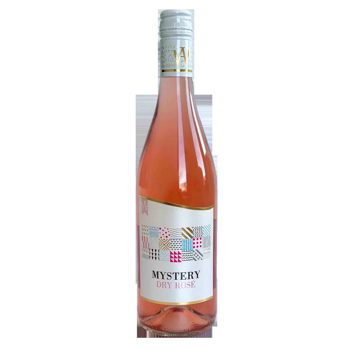 ВИНО розе, голяма бутилка