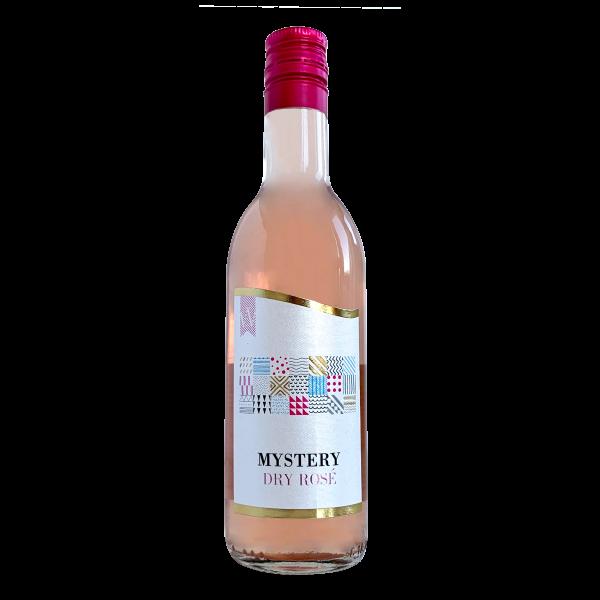 вино розе, малка бутилка